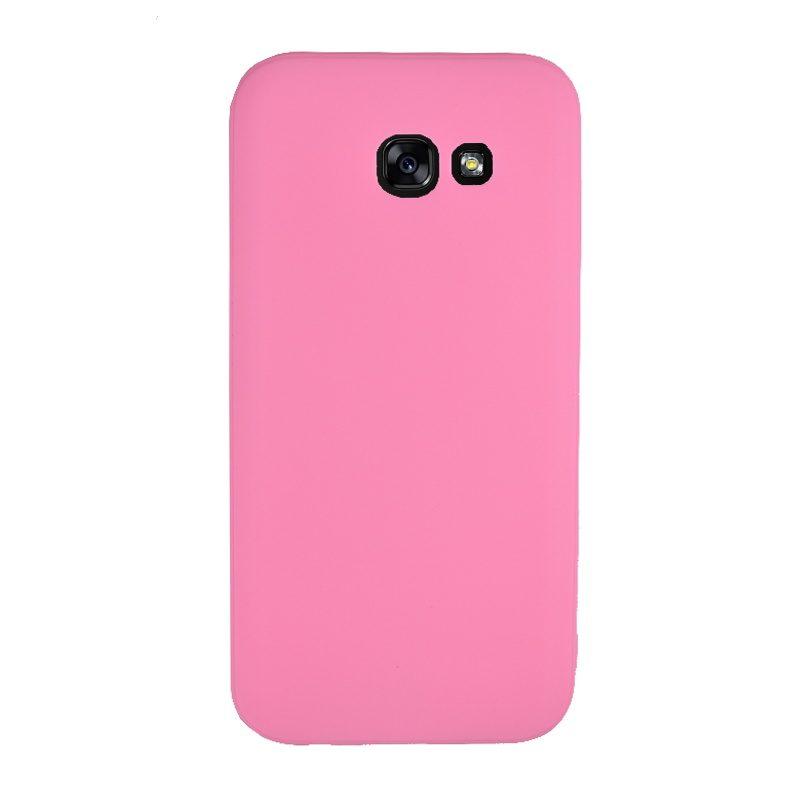 Silikónový kryt na Samsung Galaxy A5 2017 Pink