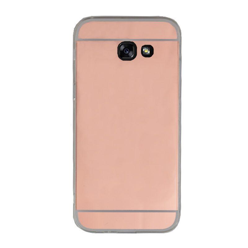 Silikónový kryt na Samsung Galaxy A5 2017 zrkadlový Rose Gold