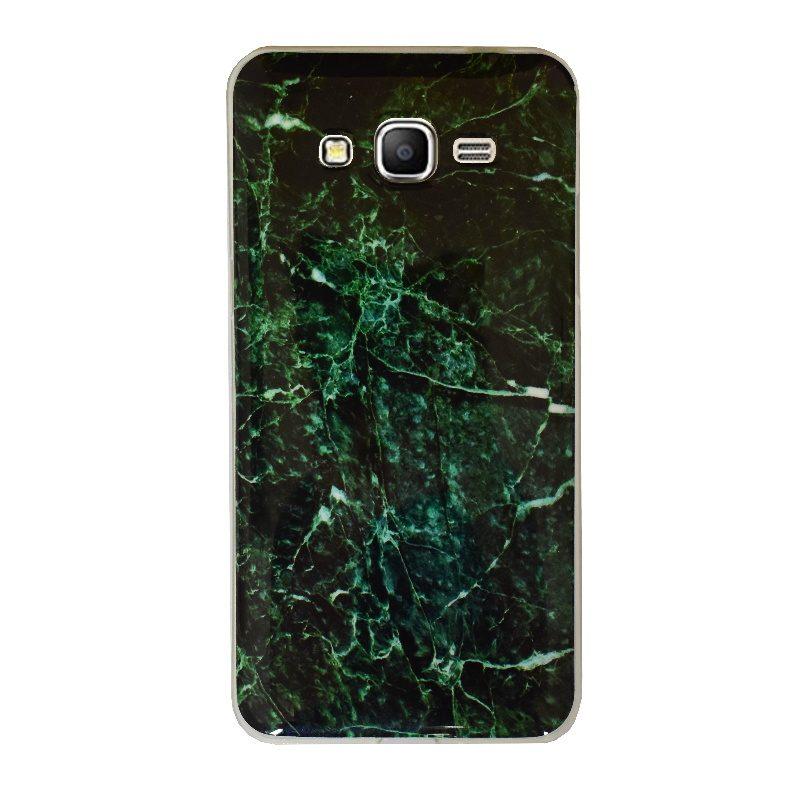 Silikónový kryt na Samsung Galaxy Grand Prime Green Marble