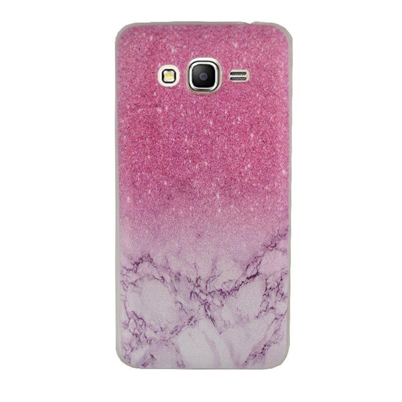 Silikónový kryt na Samsung Galaxy Grand Prime Pink Marble