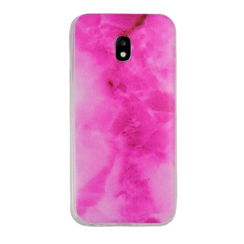 Silikónový kryt na Samsung Galaxy J3 201 Pink Marble