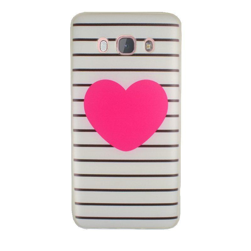 Silikónový kryt na Samsung Galaxy J5 2016 Heart