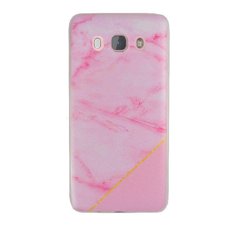 Silikónový kryt na Samsung Galaxy J5 2016 Pink Marble