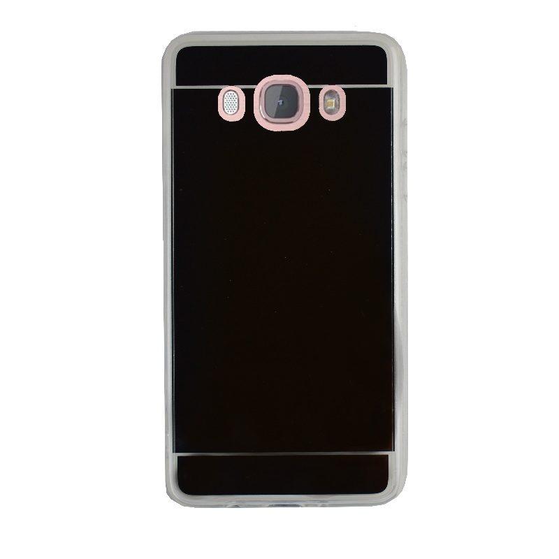 Silikónový kryt na Samsung Galaxy J5 2016 zrkadlový Silver