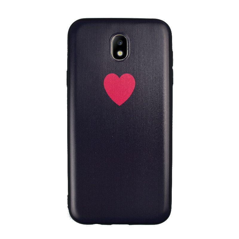 Silikónový kryt na Samsung Galaxy J7 2017 Heart