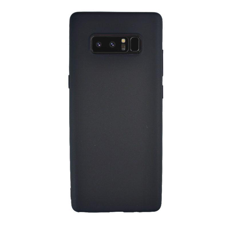 Silikónový kryt na Samsung Galaxy Note 8 čierny
