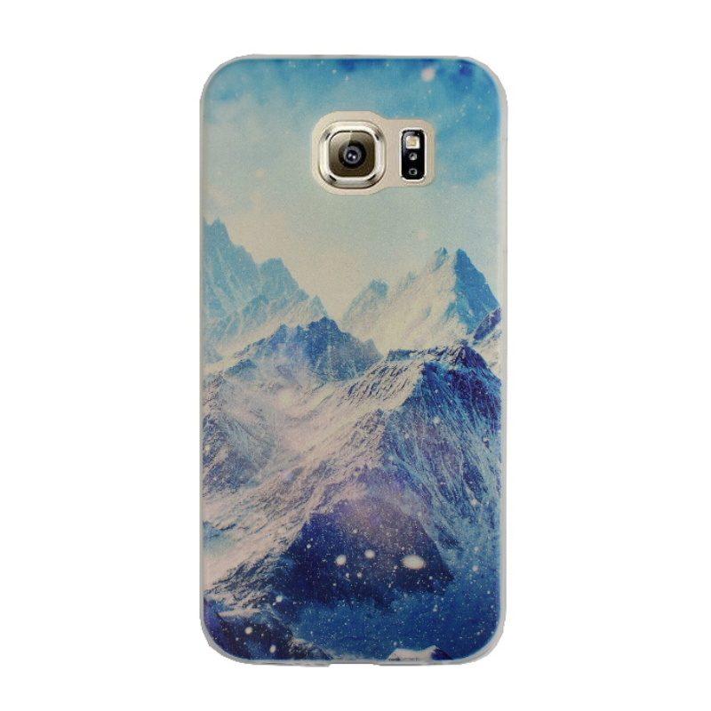 Silikónový kryt na Samsung Galaxy S6 -hory