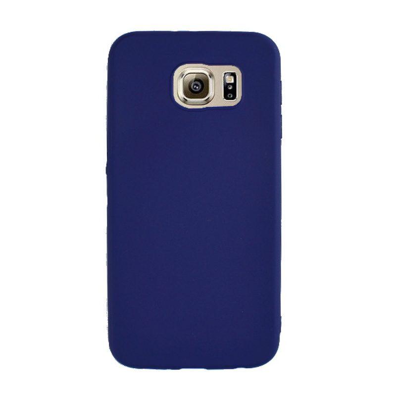 Silikónový kryt na Samsung Galaxy S6 - modrý