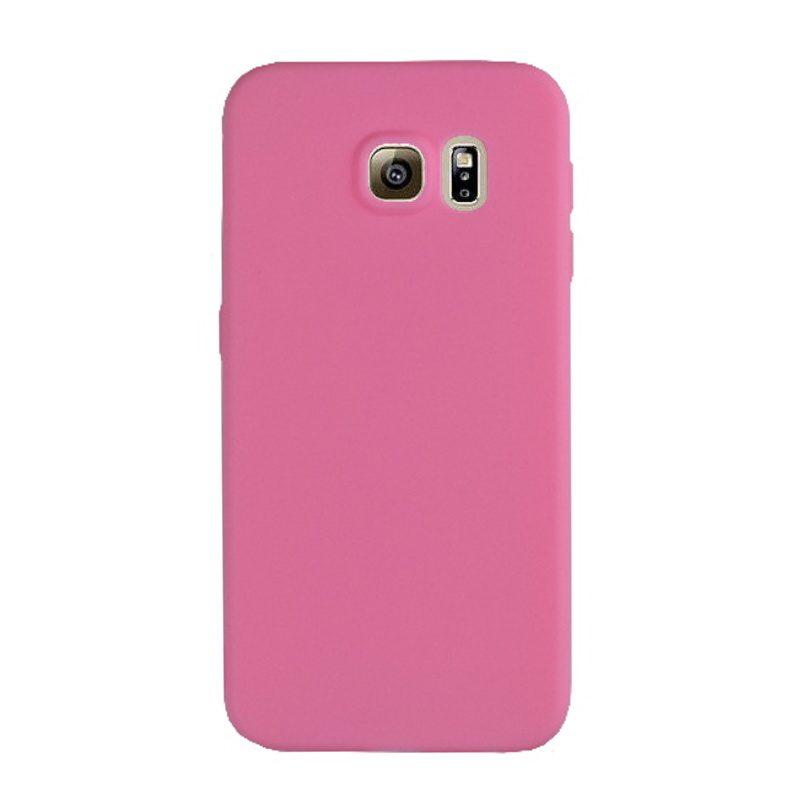 Silikónový kryt na Samsung Galaxy S6 - ružový