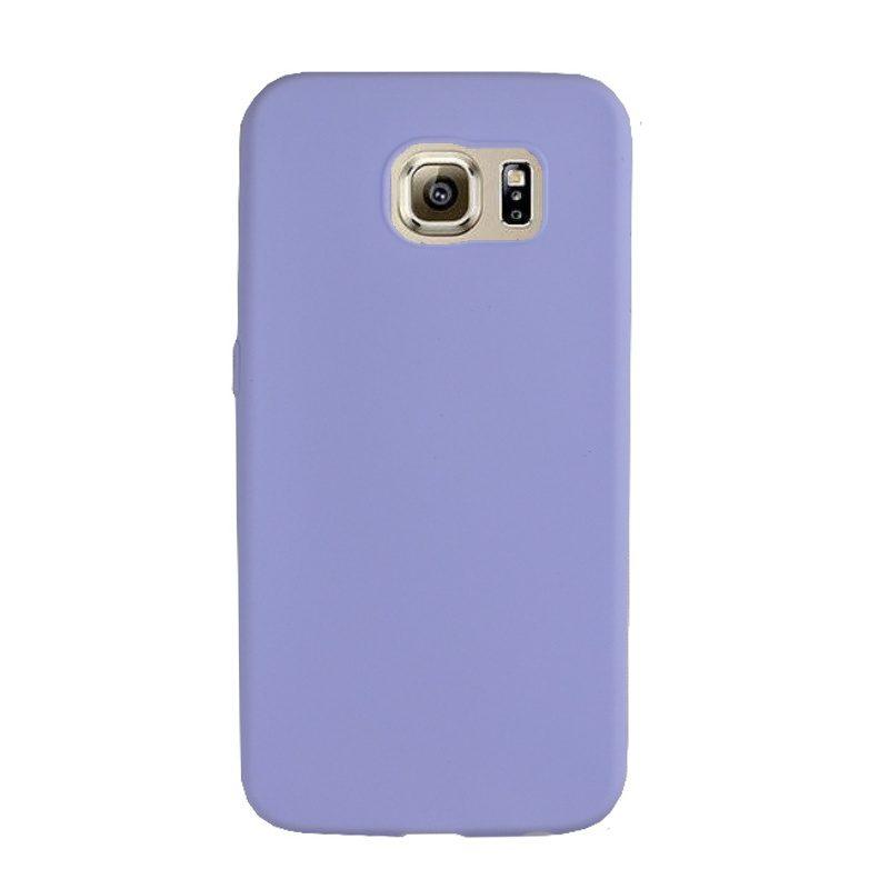 Silikónový kryt na Samsung Galaxy S6 - light blue