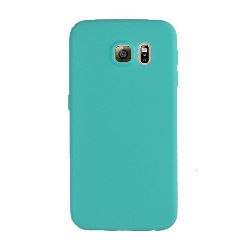 Silikónový kryt na Samsung Galaxy S6 - tyrkysový
