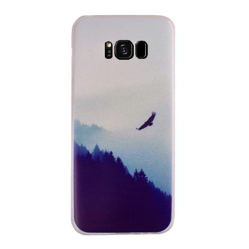 Silikónový kryt na Samsung Galaxy S8+ Forest