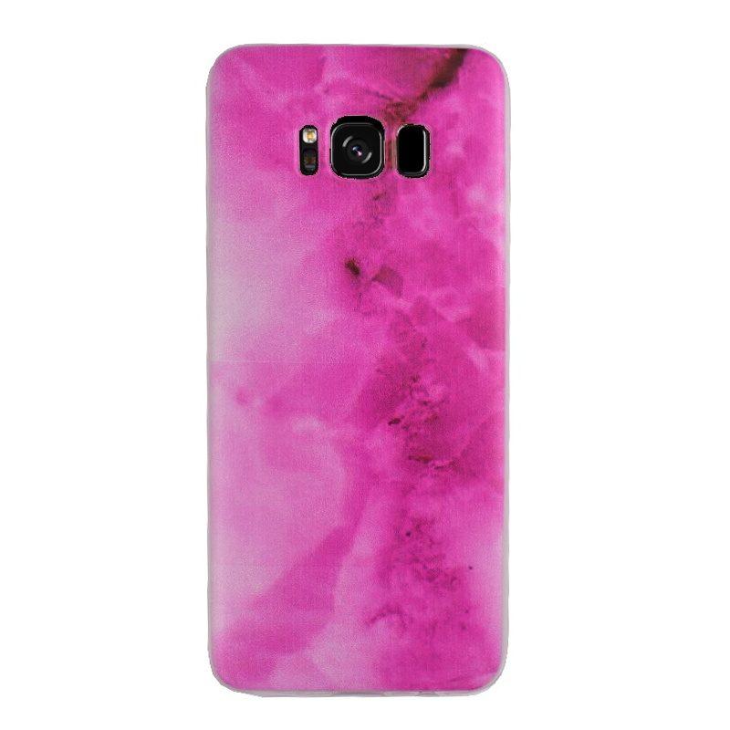 Silikónový kryt na Samsung Galaxy S8 - pink art