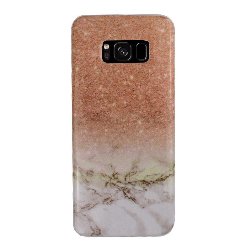 Silikónový kryt na Samsung Galaxy S8 - zlatý