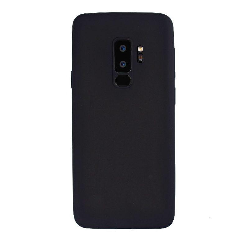 Silikónový kryt na Samsung Galaxy S9+ Dark Black