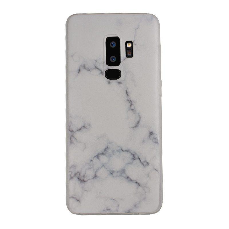 Silikónový kryt na Samsung Galaxy S9+ White Marble