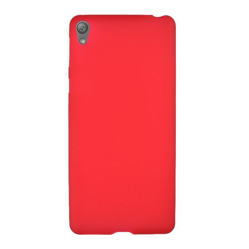 Sony Xperia E5 silikónový kryt Red 1