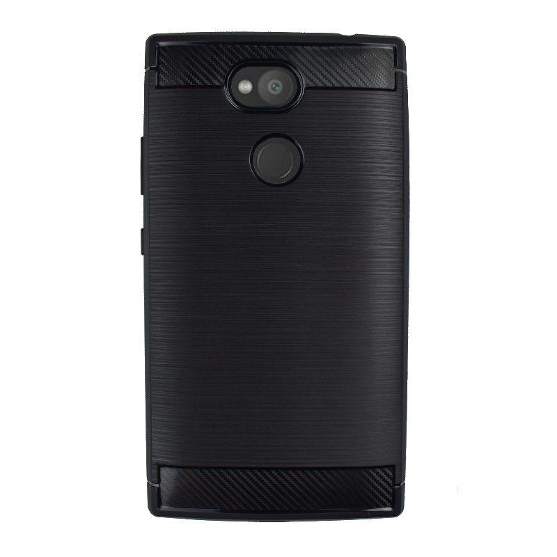 Silikónový kryt na Sony Xperia L2 Carbon Black