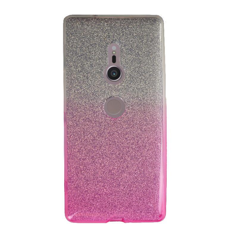 Silikónový kryt na Sony Xperia XZ2 Pink Sparkling