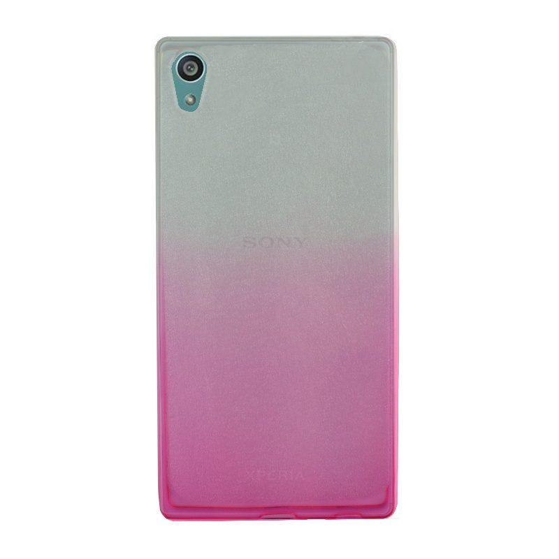 Silikónový kryt na Sony Xperia Z5 Pink