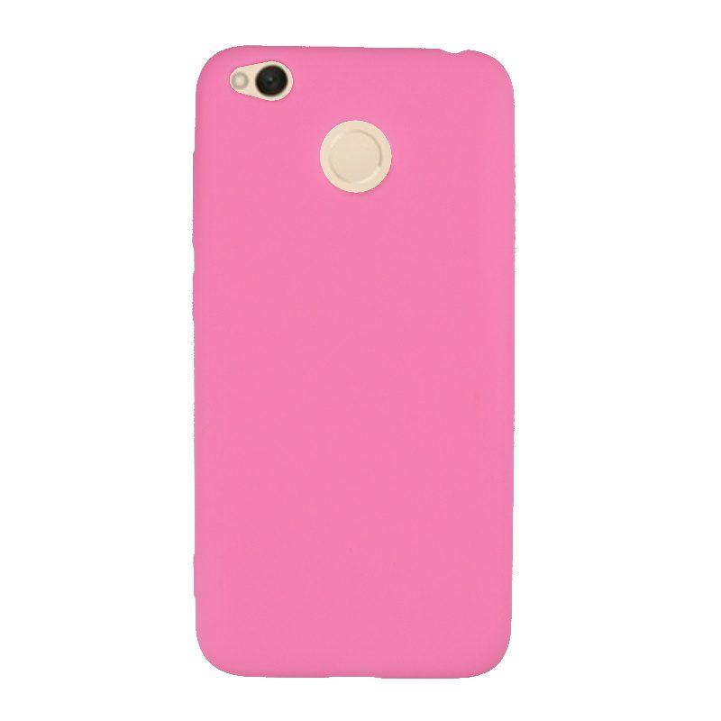 Xiaomi Redmi 4X silikónový kryt Pink 1