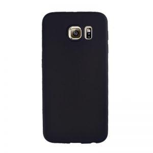 Silikónový kryt pre Samsung Galaxy S6 - čierny