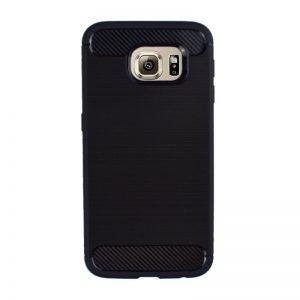 Silikónový kryt pre Samsung Galaxy S6 - karbónový čierny