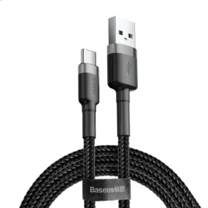 Kábel USB-C 2A Fast Data 100cm Baseus - čierny