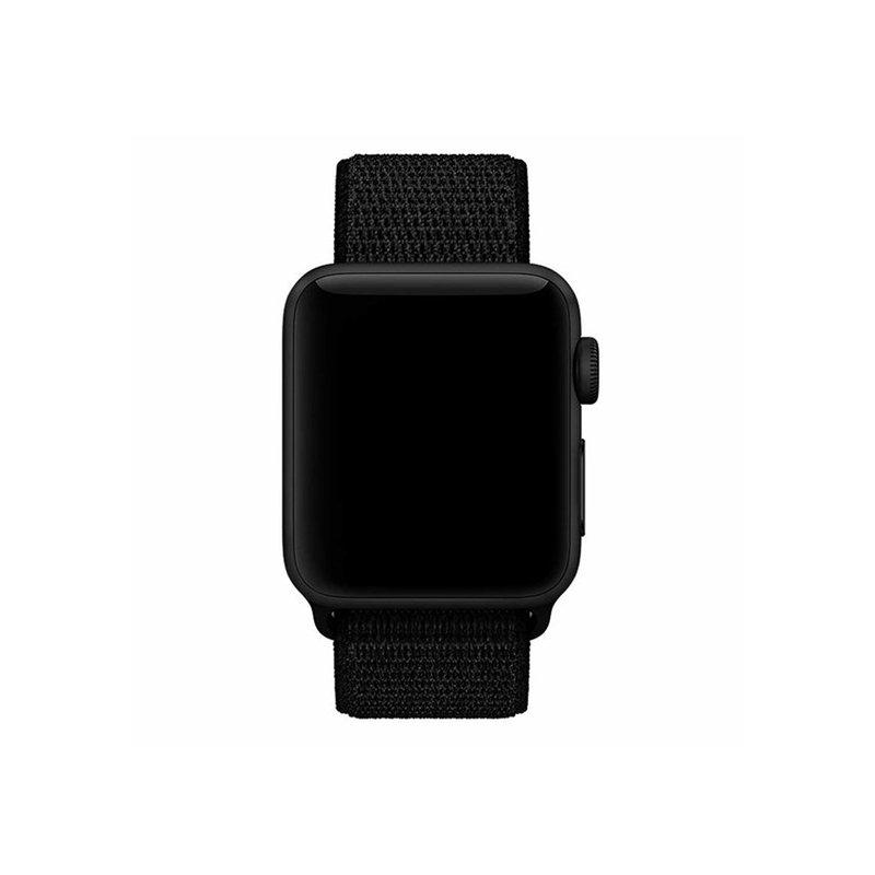Remienok na Apple Watch 38mm/40mm látkový Black