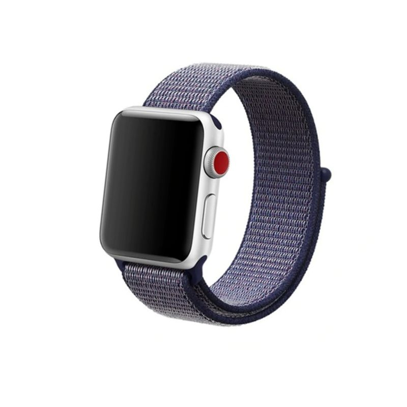 Apple Watch 42mm/44mm látkový remienok Midnight Blue