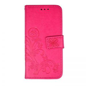 Ochranné flip puzdro pre Apple iPhone 7/8 Pink Flower