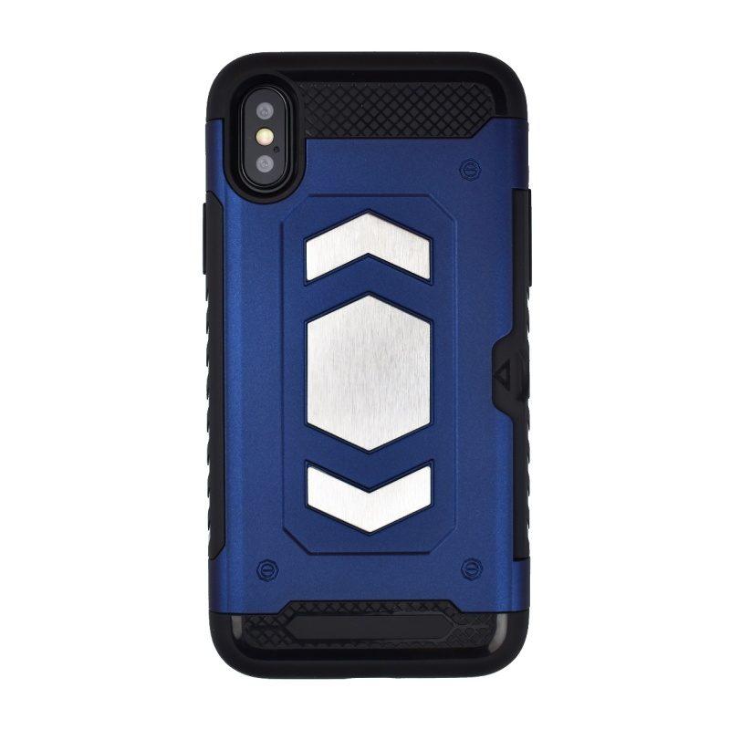 Odolný Armor kryt pre Apple iPhone X/XS - modrý