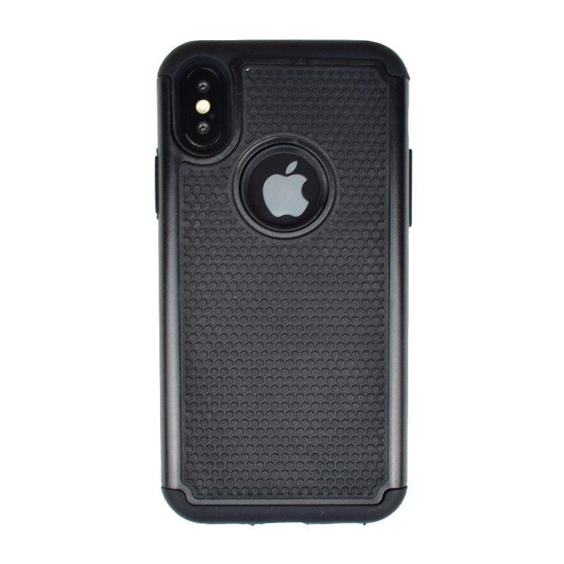 Odolný armor kryt pre Apple iPhone X Xs čierny