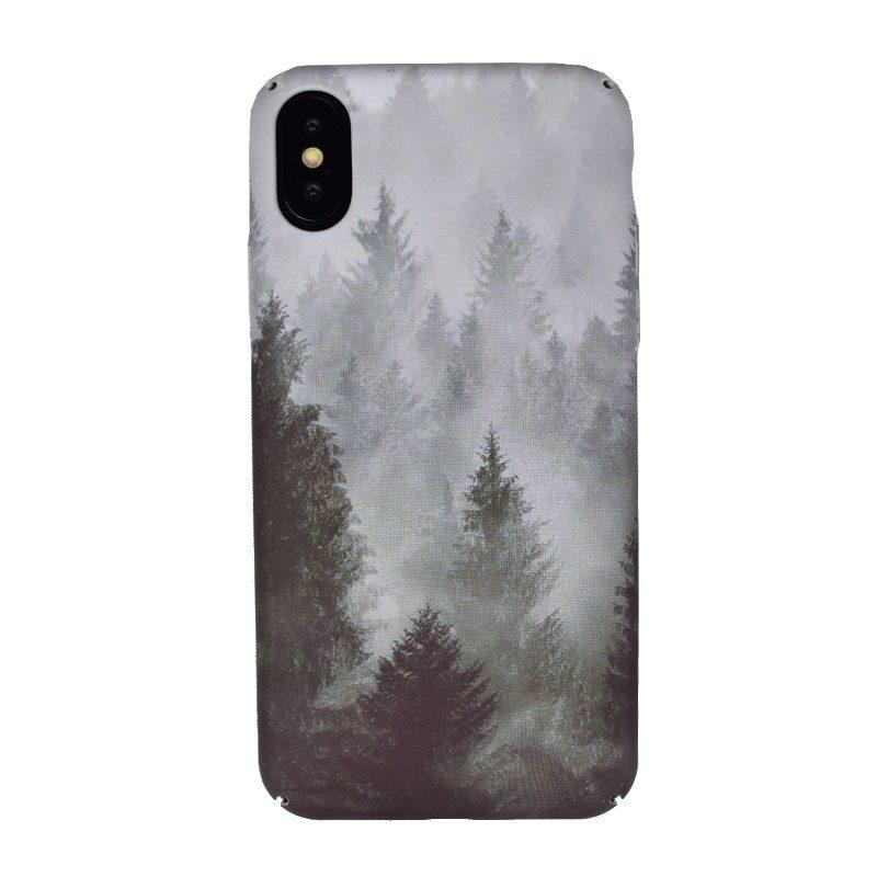 Plastový kryt pre Apple iPhone X/XS Light Forest