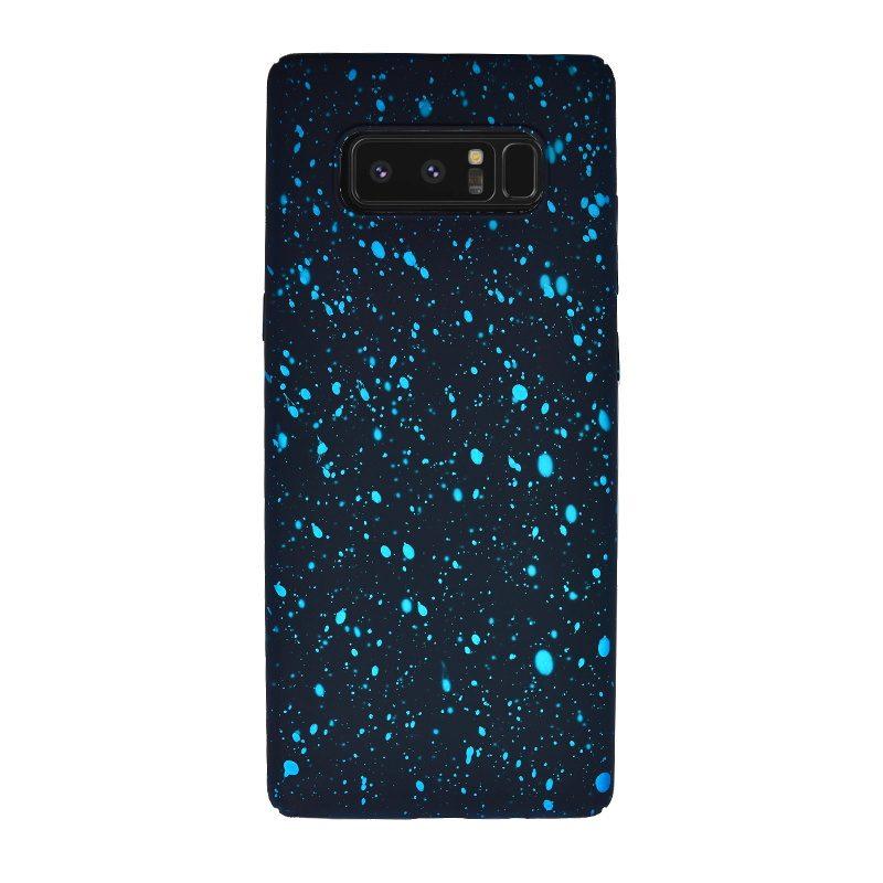 Plastový kryt pre Samsung Galaxy Note 8 Blue Dots