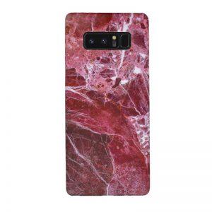Plastový kryt pre Samsung Galaxy Note 8 Dark Red Marble