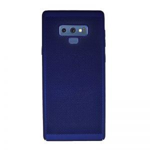 Plastový kryt pre Samsung Galaxy Note 9 Blue dierkovaný