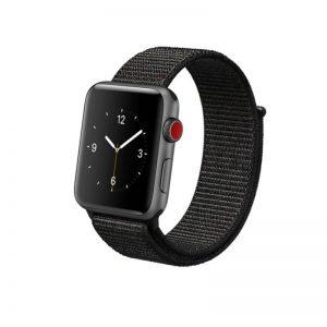 Látkový remienok Apple Watch 42mm Black
