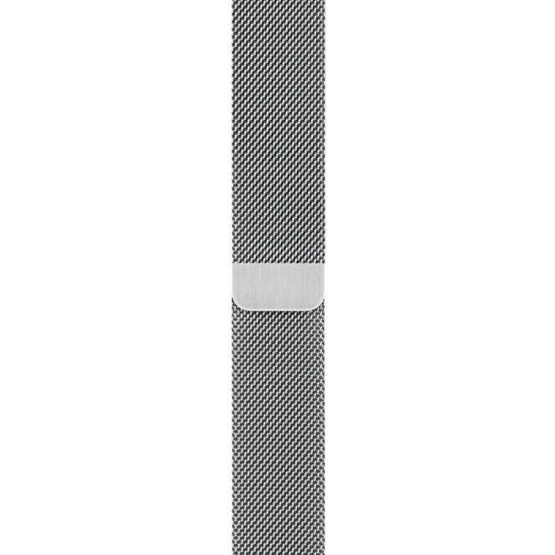 Remienok na Apple Watch 38mm/40mm kovový strieborný