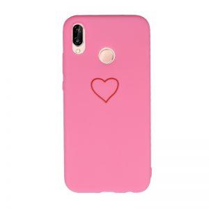 Silikónový kryt pre Huawei P20 Lite Big Heart