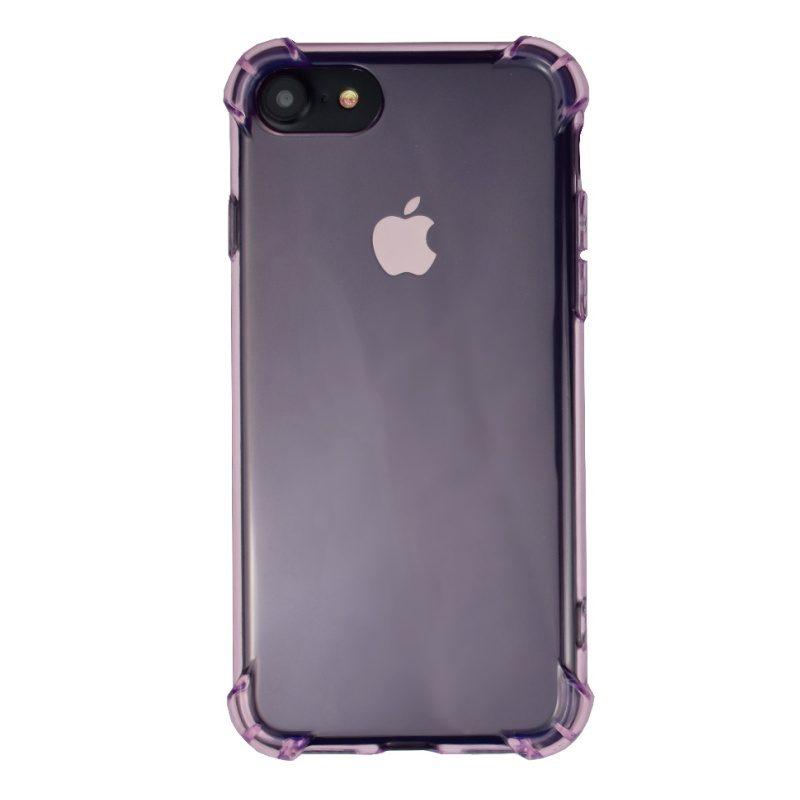 Silikónový kryt pre iPhone 7/8 Pink Light s vystúženými hranami