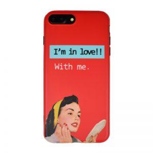 Silikónový kryt pre Apple iPhone 7/8 Plus IN LOVE
