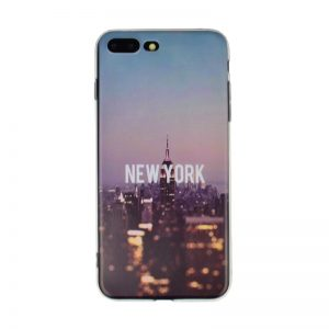 Silikónový kryt pre Apple iPhone 7/8 Plus Morning New York