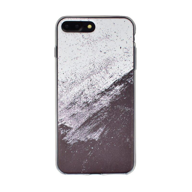 Silikónový kryt pre Apple iPhone 7/8 Plus White Art