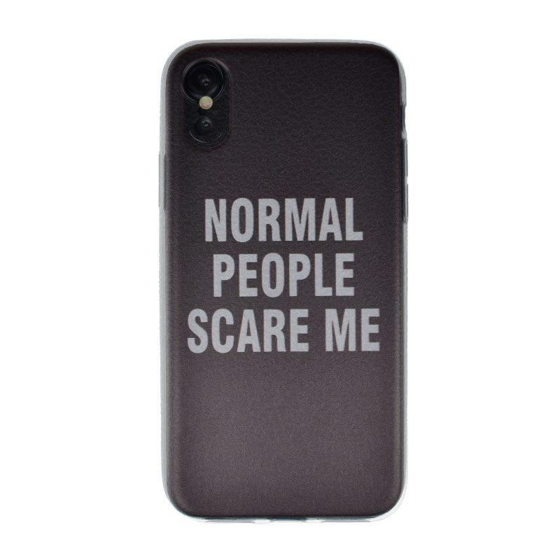 Silikónový kryt pre Apple iPhone X/XS Normal People