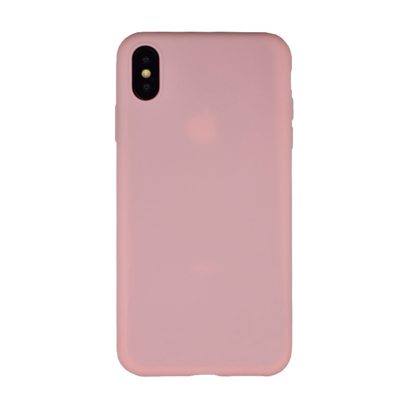 Silikónový kryt pre Apple iPhone XS Max Light Pink