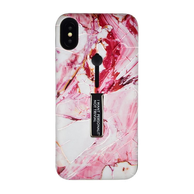 Silikónový kryt pre Apple iPhone XS Max Marble I want