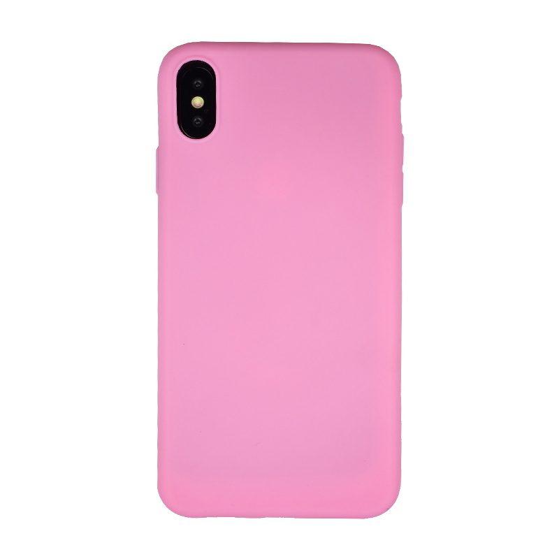 Silikónový kryt pre Apple iPhone XS Max Pink