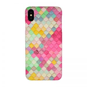 Plastový kryt pre Apple iPhone XS Max Geometric Colors