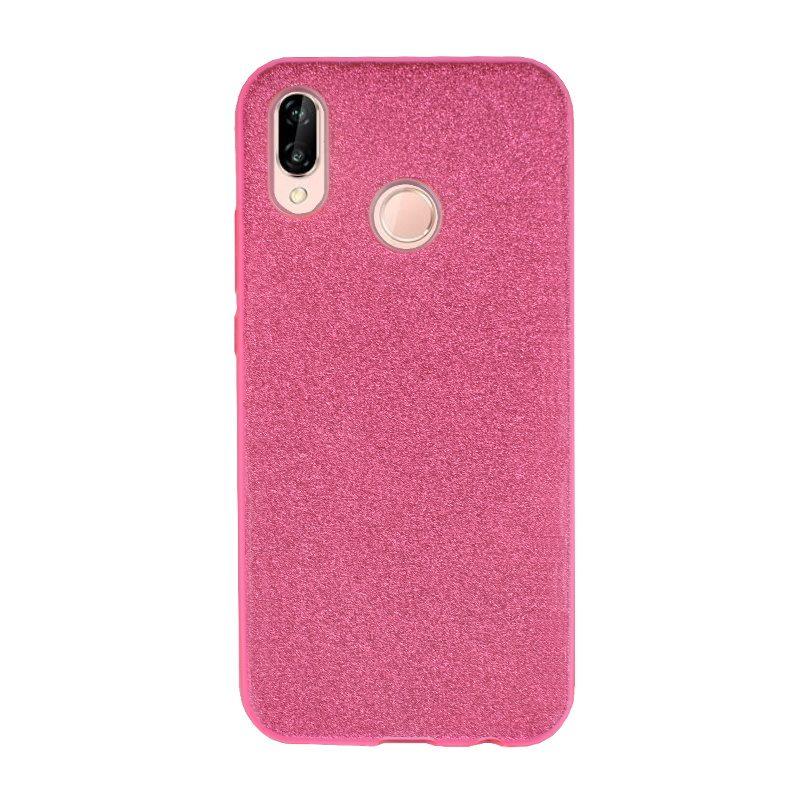 Silikónový kryt pre Huawei P20 Lite Light Pink Sparkling